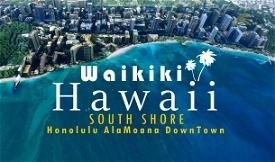 Waikiki, HAWAII Image Flight Simulator 2020