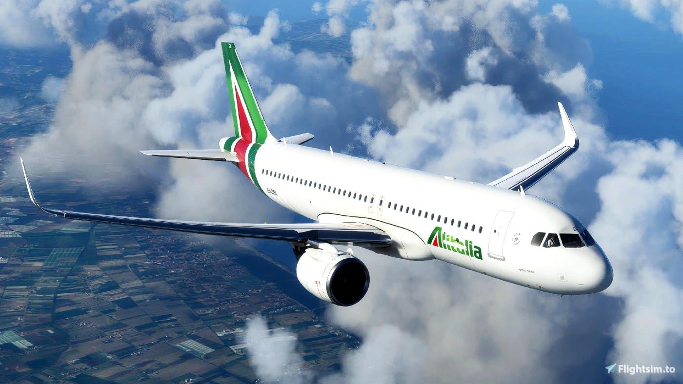 Alitalia A320Neo [8K] - FBW A32NX Flight Simulator 2020