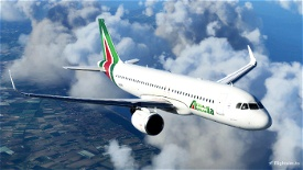 Alitalia A320Neo [8K] - FBW A32NX Image Flight Simulator 2020