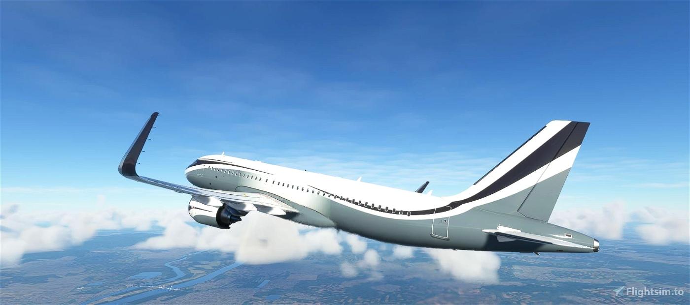 FBW A32NX  Sophar Airbus ACJ320neo (M-KATE) Flight Simulator 2020