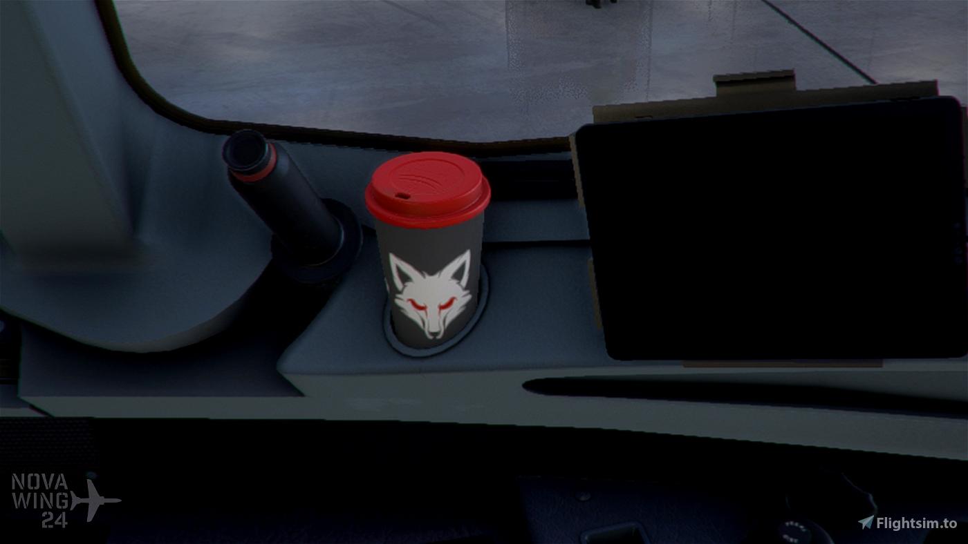 The Skypark Agency A32NX Coffee Cups