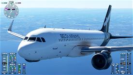 Airbus A320neo Belta Airways [8K] Image Flight Simulator 2020
