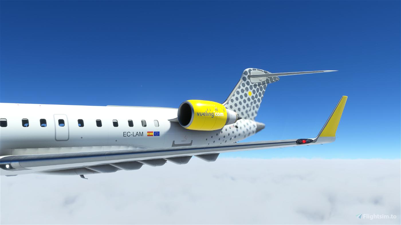 Vueling CRJ 700 - 8K