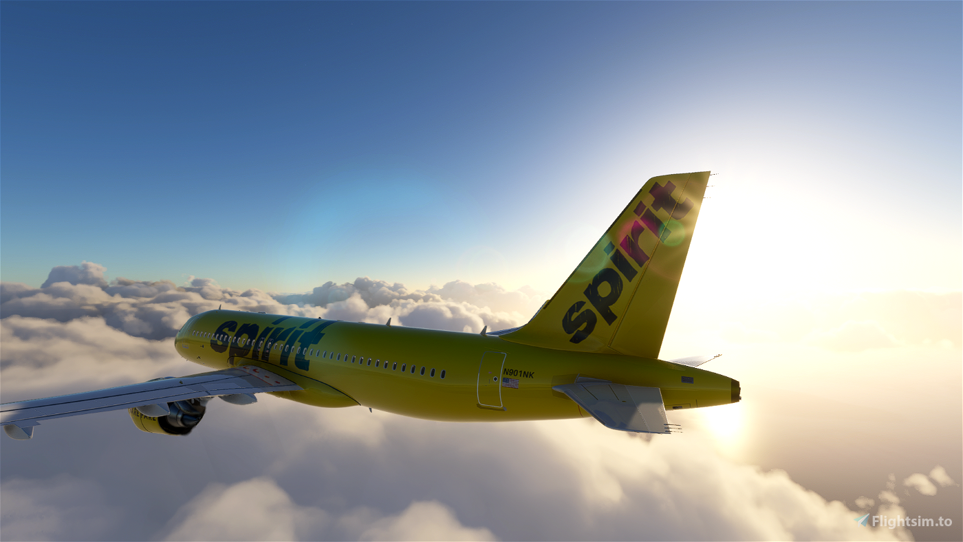 [A32NX] Spirit Airlines