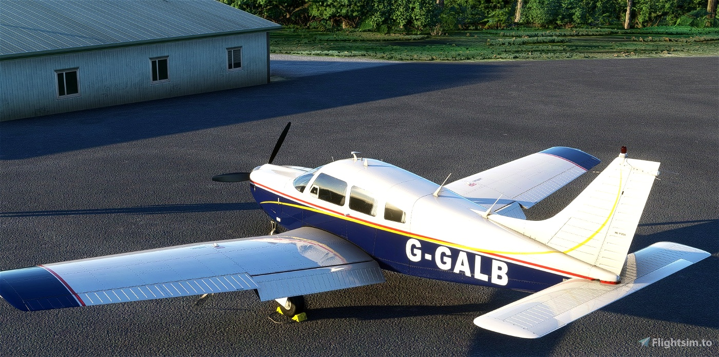 JF Piper Arrow III G-GALB