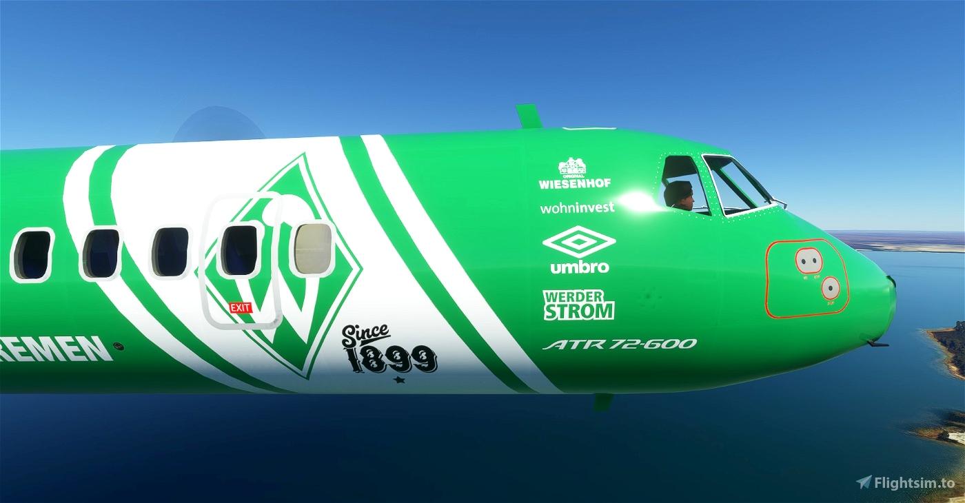 Werder Bremen ATR 72-600 8K