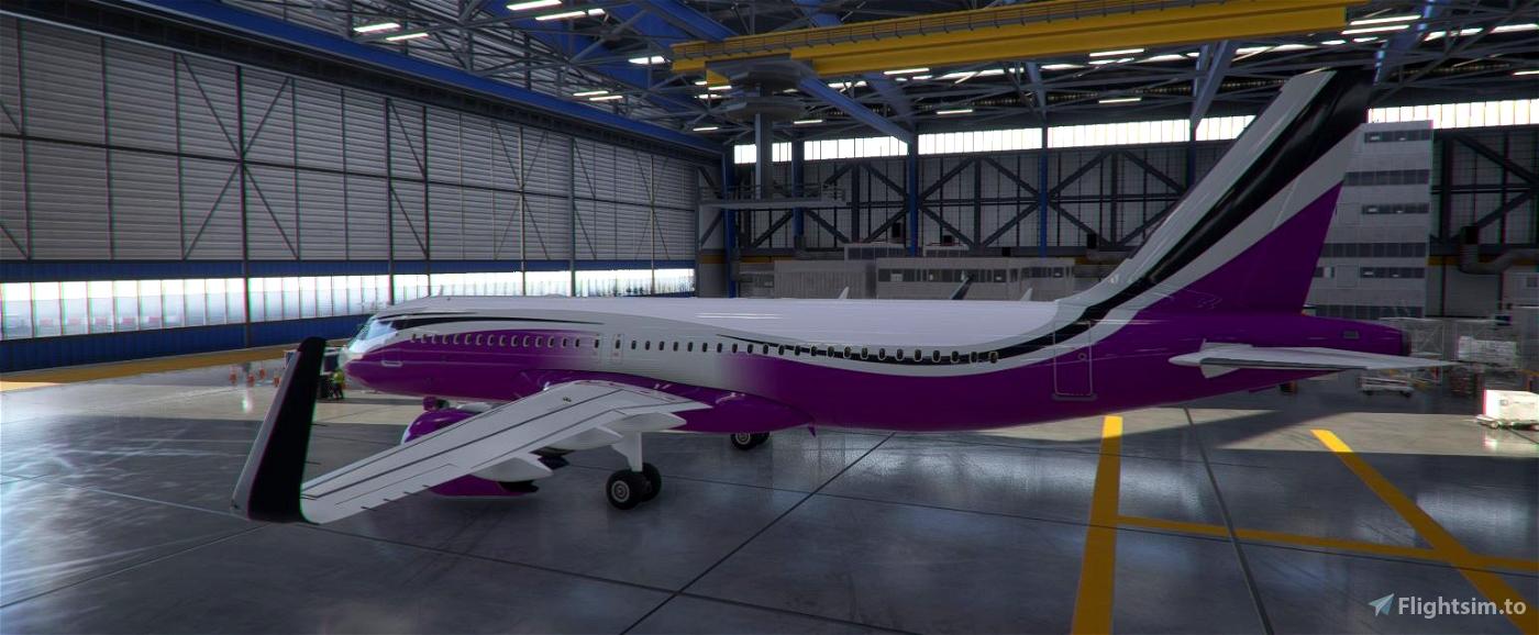 FBW A32NX ACJ320neo colored wave designs