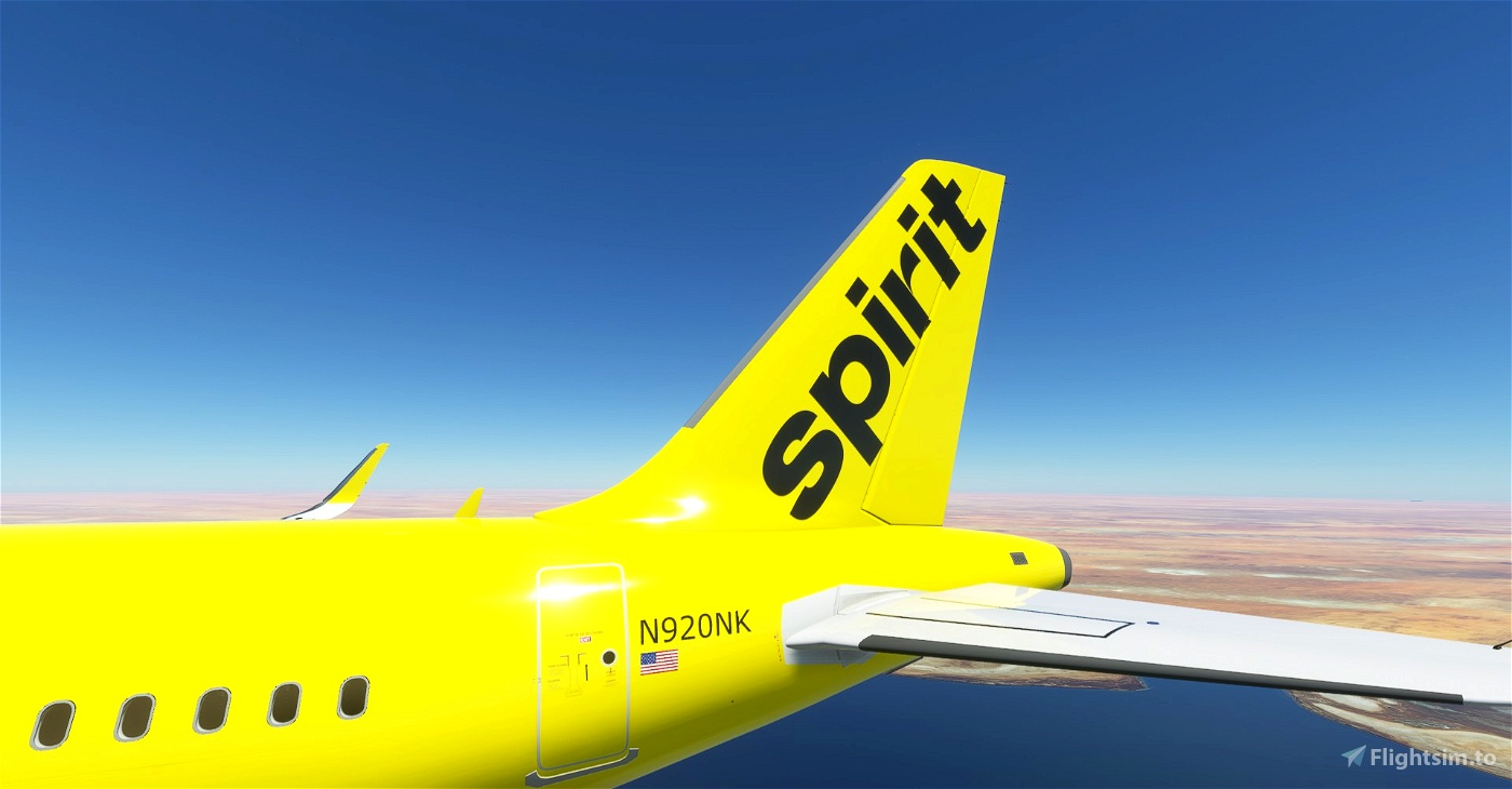 Spirit Airlines A320 Neo 8K