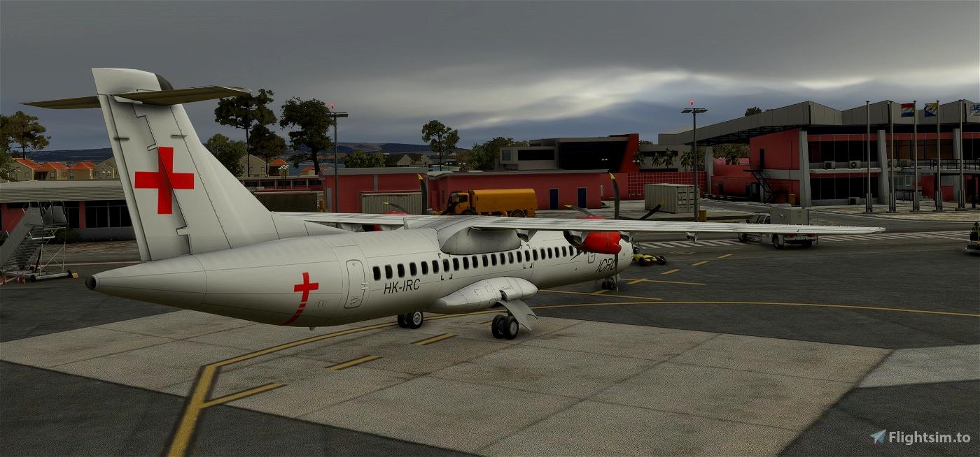 Red Cross ATR-72-600 Livery
