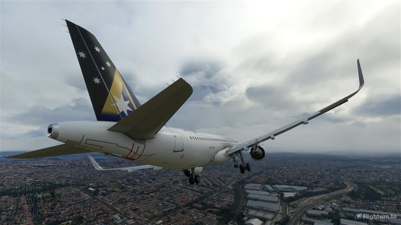 Airbus A32NX FBW Ansett Australia