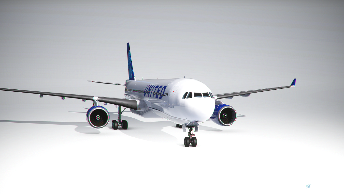 PMP Airbus A330-300 United new colors - fictional [4k] Flight Simulator 2020