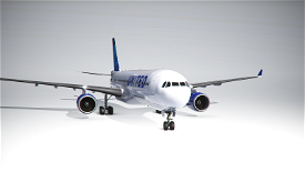 PMP Airbus A330-300 United new colors - fictional [4k] Image Flight Simulator 2020