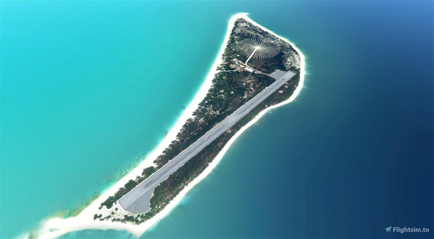 WWII Kure Atoll Airport Flight Simulator 2020