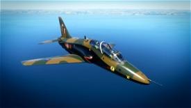 Indiafoxtecho Boeing T-45C Goshawk RCAF Hawk Royal Canadian Air Force Camo livery. Image Flight Simulator 2020