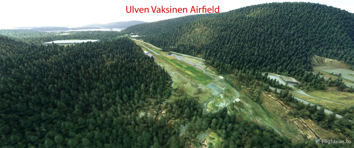 ENUL Vaksinen airfield, Os Flight Simulator 2020