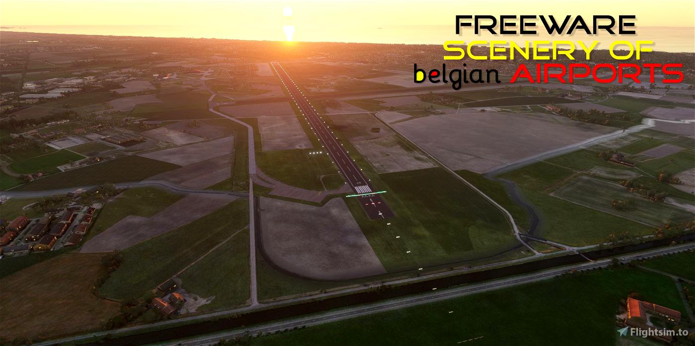 EBFN Koksijde Airbase, Belgium Flight Simulator 2020