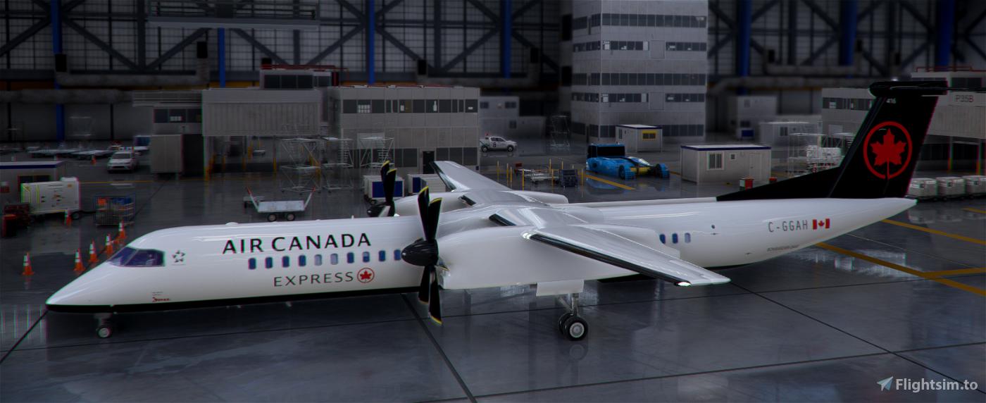 DHC8-Q400 Air Canada Express