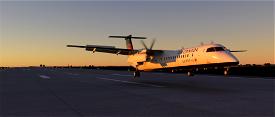 DHC8-Q400 Air Canada Express Image Flight Simulator 2020