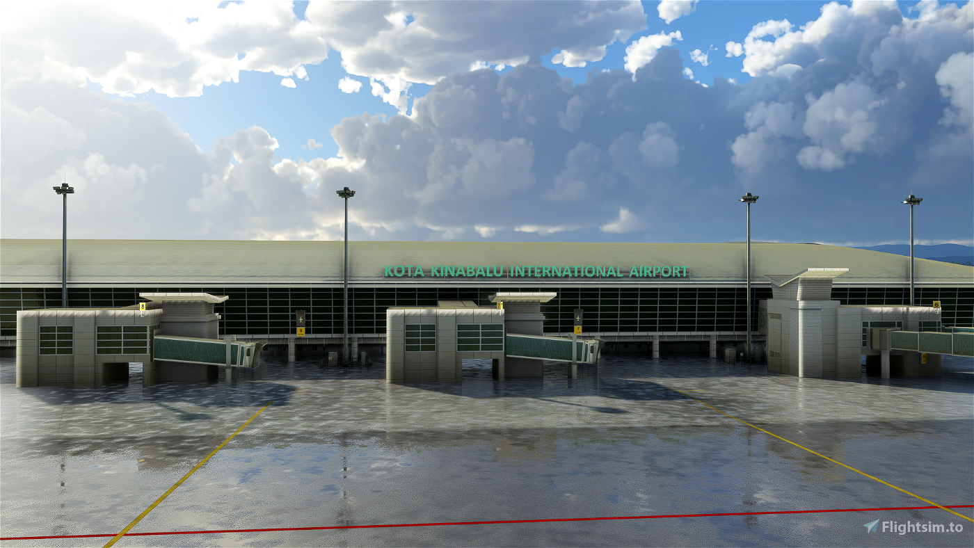 Kota Kinabalu International Airport - WBKK Flight Simulator 2020
