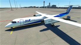 Dash8 Q400 ANA Wings [4K] Image Flight Simulator 2020