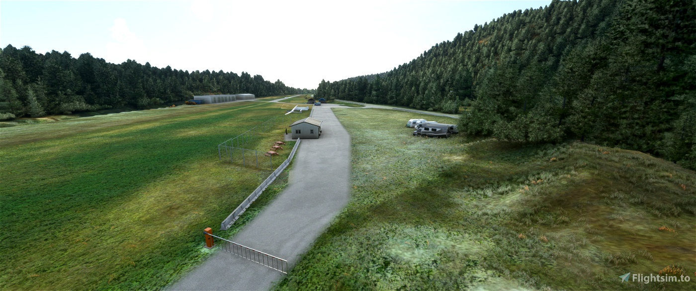 ENUL Vaksinen airfield, Os